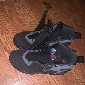 Air Jordan 8 Size 6.5 Aqua 8's